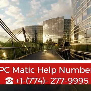 PC Matic Help Number ☎+1-(774)-277-9995