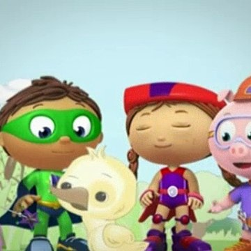 Super WHY! Season 1 Episode 55 - The Ugly Duckling Becoming A Swan