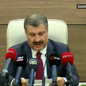 Son dakika haberi... Sağlık Bakanı Fahrettin Koca'dan önemli açıklamalar | Video