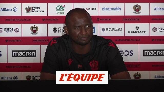 Vieira : «J'ai toujours connu la pression» - Foot - L1 - Nice