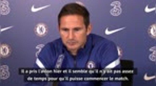 Chelsea - Lampard se réjouit de la concurrence au poste de gardien