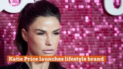 Katie Price Gets Into Business
