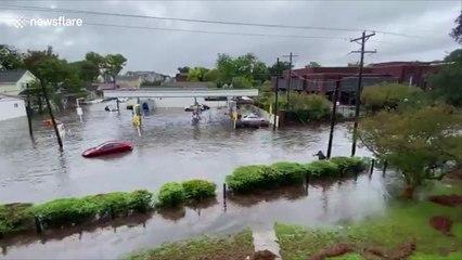 Severe flooding In Charleston, South Carolina
