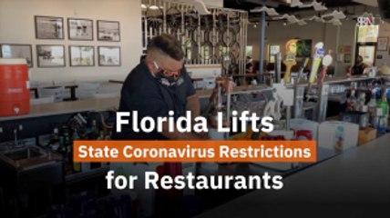 Florida Lifts Restrictions