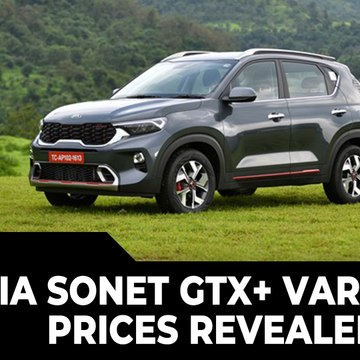 Kia Sonet GTX+ Variant Prices Revealed | Engine Specs, Features, Bookings, & All Other Details