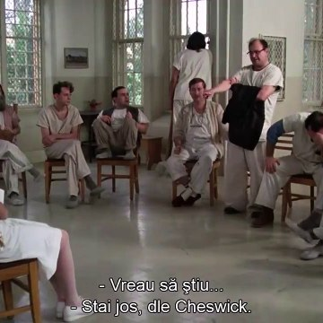 One Flew Over The Cuckoos Nest - I Want My Cigarettes Full Scene - 1080p Full HD