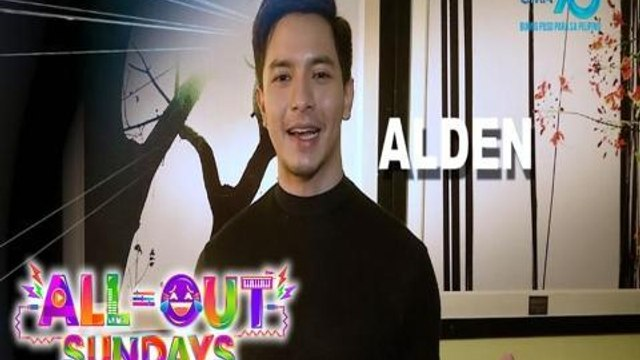 All-Out Sundays: Alden Richards invites you to party with 'All-Out Sundays!'