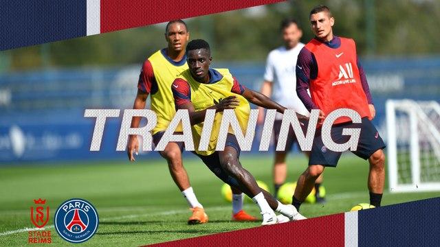 Replay: L'entraînement avant Stade de Reims v Paris Saint-Germain
