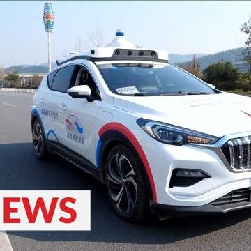 Self-driving cars debut in Changsha