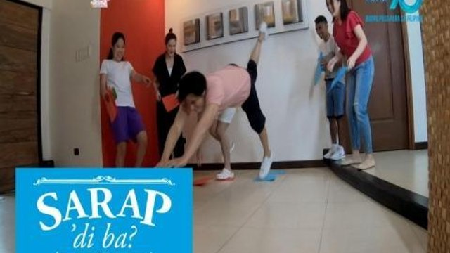 Sarap, 'Di Ba?: Cash prize or dare on 'Unahang Papel Challenge' | Bahay Edition