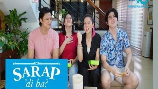 Sarap, 'Di Ba?: 'Isang Tanong, Isang Sagot Challenge' with the Legaspi family   Bahay Edition