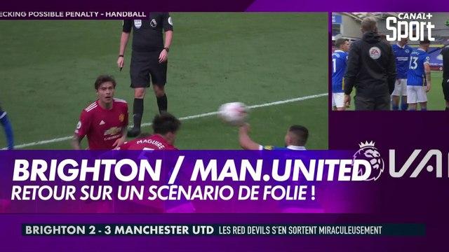 Retour sur le renversant Brighton / Manchester United - Premier League, 3ème journée