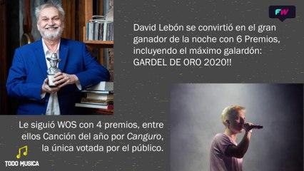 TM. Especial Premios Gardel 2020.