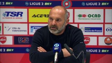 J5 Ligue 2 BKT : Les réactions de P.Dupraz et P.Oniangué après Valenciennes FC 1-0 SMCaen
