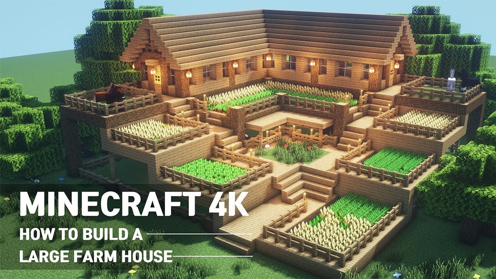 Minecraft How To Build A Farmhouse Video Dailymotion