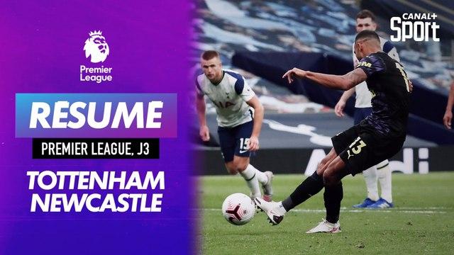 Le résumé de Tottenham - Newcastle J3