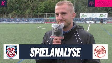 Die Spielanalyse | FSV Frankfurt U16 - Offenbacher Kickers U17 (4. Spieltag, B-Junioren-Hessenliga)