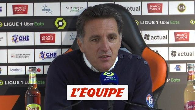Christophe Pélissier : « J'ai retrouvé les valeurs de mon groupe » - Foot - L1 - Lorient