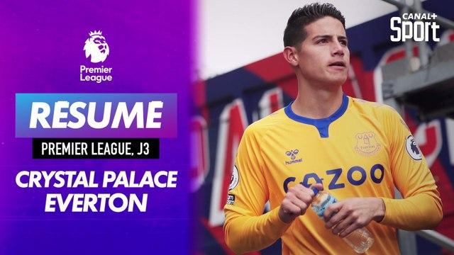Le résumé de Crystal Palace - Everton en VO