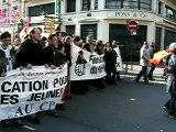 Manifestation contre le CPE du 18/03/06