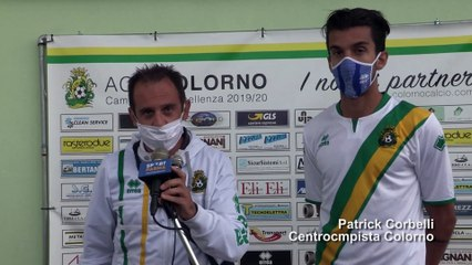 Colorno - Felino 3-0, le interviste