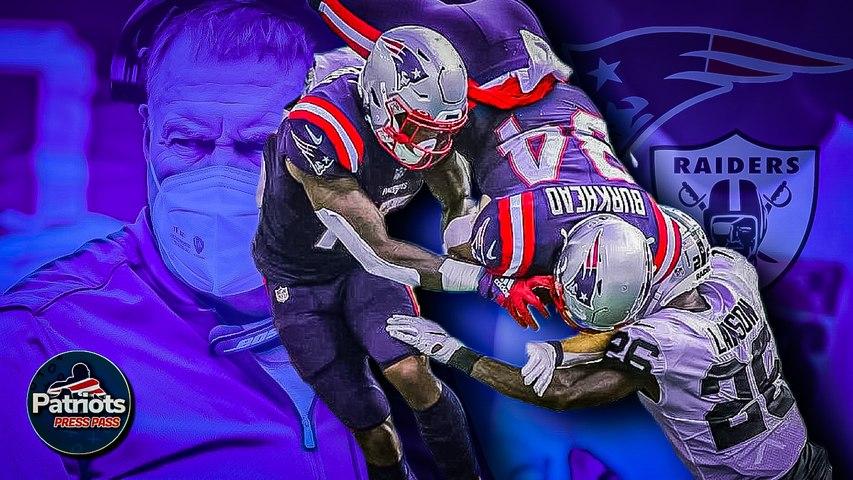 Patriots Beat Raiders 36-20, Rex Burkhead Scores Three TDs | Patriots Press Pass