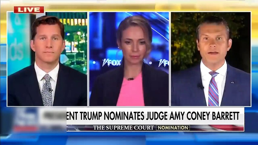 #NEWS  Trump discusses Judge Amy Coney Barrett, the fate of Roe v. Wade - Full Interview