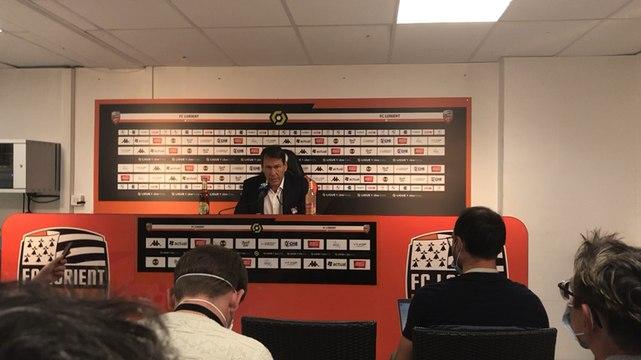 La réaction de Rudi Garcia après le match nul de Lyon à Lorient (1-1)