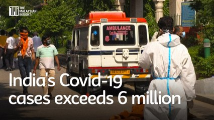 India's Covid-19 cases exceeds 6 million