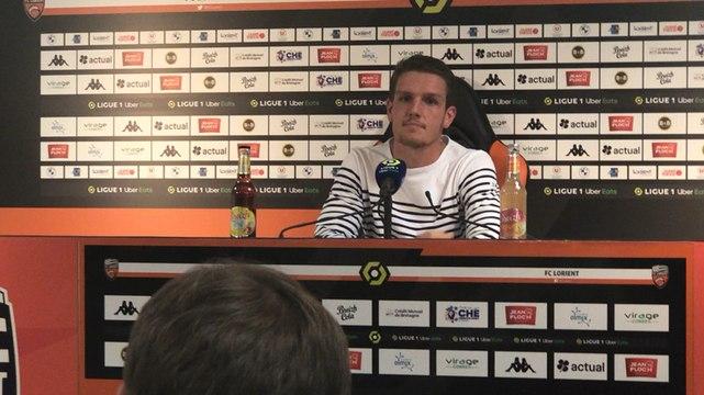 La réaction de Julien Laporte (défenseur du FCL) après le 1-1 contre Lyon