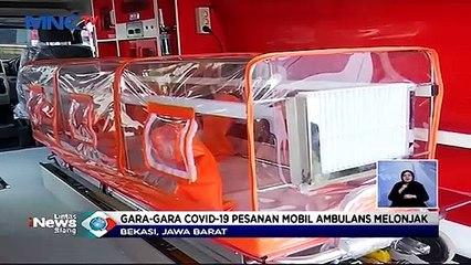 Banyaknya Pasien Positif Membuat Perakit Mobil Ambulans Kebanjiran Order