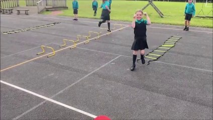 Active Playtimes at Clavering Primary School