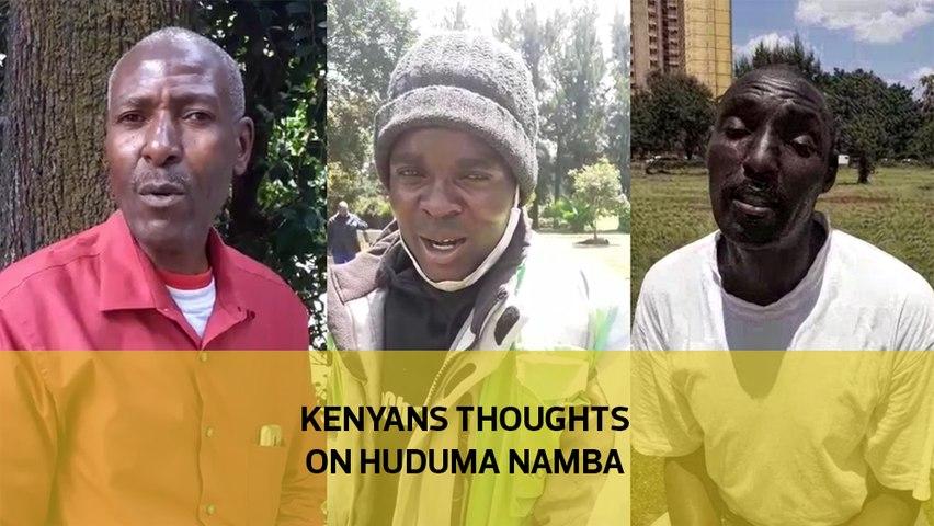 Kenyans thoughts on Huduma Namba