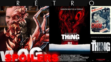 Vlog #640 - The Thing...s (1951, 1982, 2011)