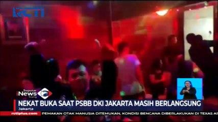 Petugas Gabungan Razia Tempat Hiburan Malam di Jakarta Barat