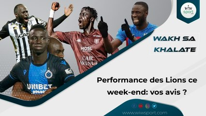 Performance des lions ce week-end : vos avis ?