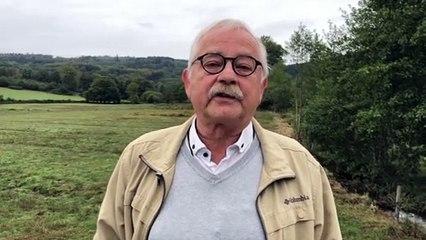 Joël Lainé, maire de Saint-Hilaire-la-Plaine proteste contre le déploiement de la 5G qui prive des habitants d'internet