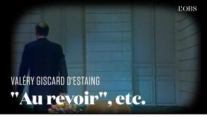 Giscard D'estaing Au Revoir - Guillaume Larrive On Twitter A Lire La  Jolie Lettre Du President Valery Giscard D Estaing A Jean D Ormesson Https  T Co P4Tuv4Bnma