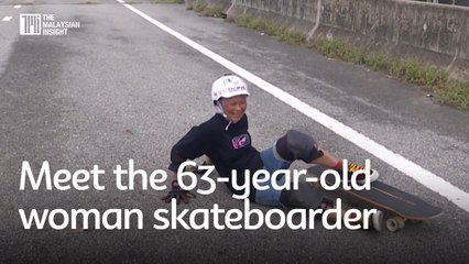 Meet the 63-year-old woman skateboarder