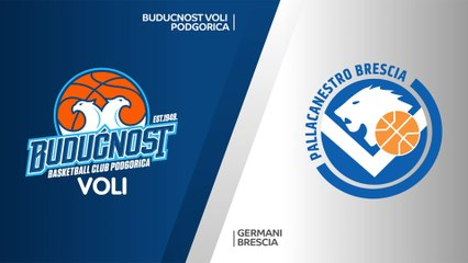 7Days EuroCup Highlights Regular Season, Round 1: Buducnost 93-81 Brescia