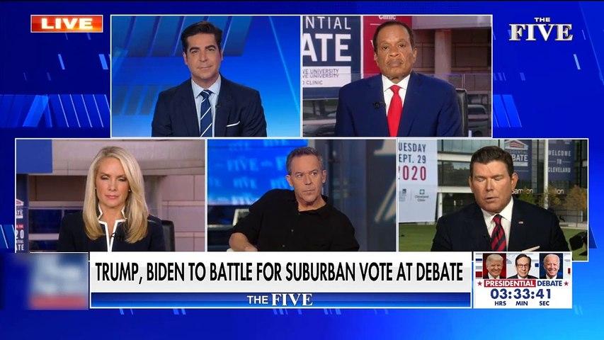 #NEWS  'The Five' make predictions on who will win the suburban vote