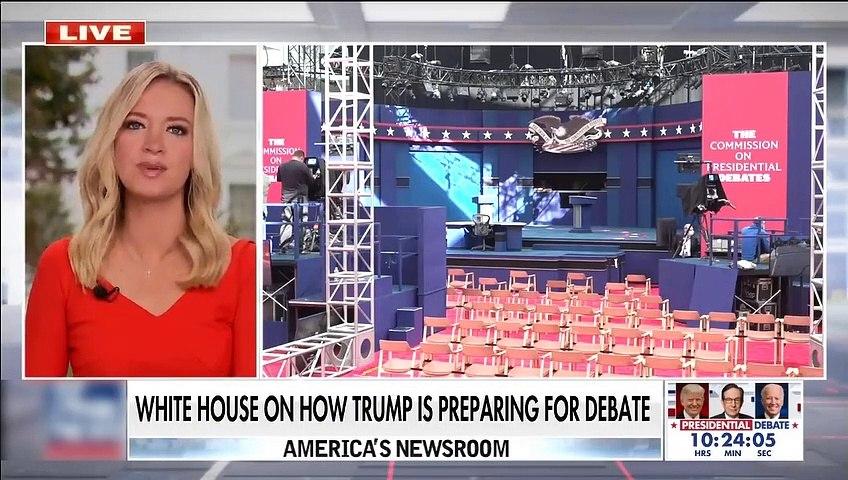 #NEWS  McEnany breaks down Trump's debate prep