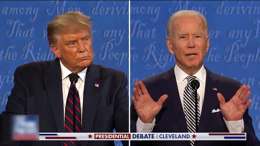 #NEWS  Trump tells Biden radical left will 'have you wrapped around their finger'