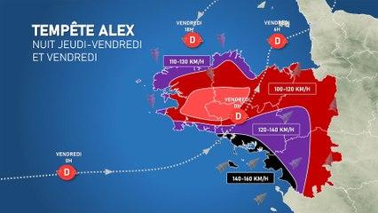 Illustration de l'actualité La tempête Alex s'annonce sévère