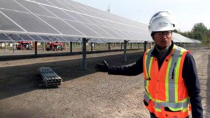 Fonctionnement des panneaux solaires (Le Reflet - Vicky Girard)
