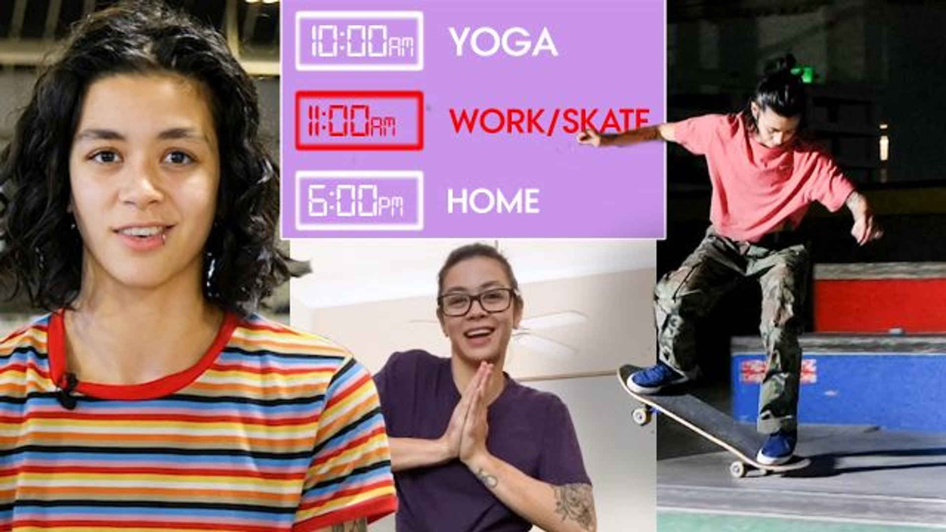 Olympic Skateboarder's Daily Routine While Filming a New Skate Video