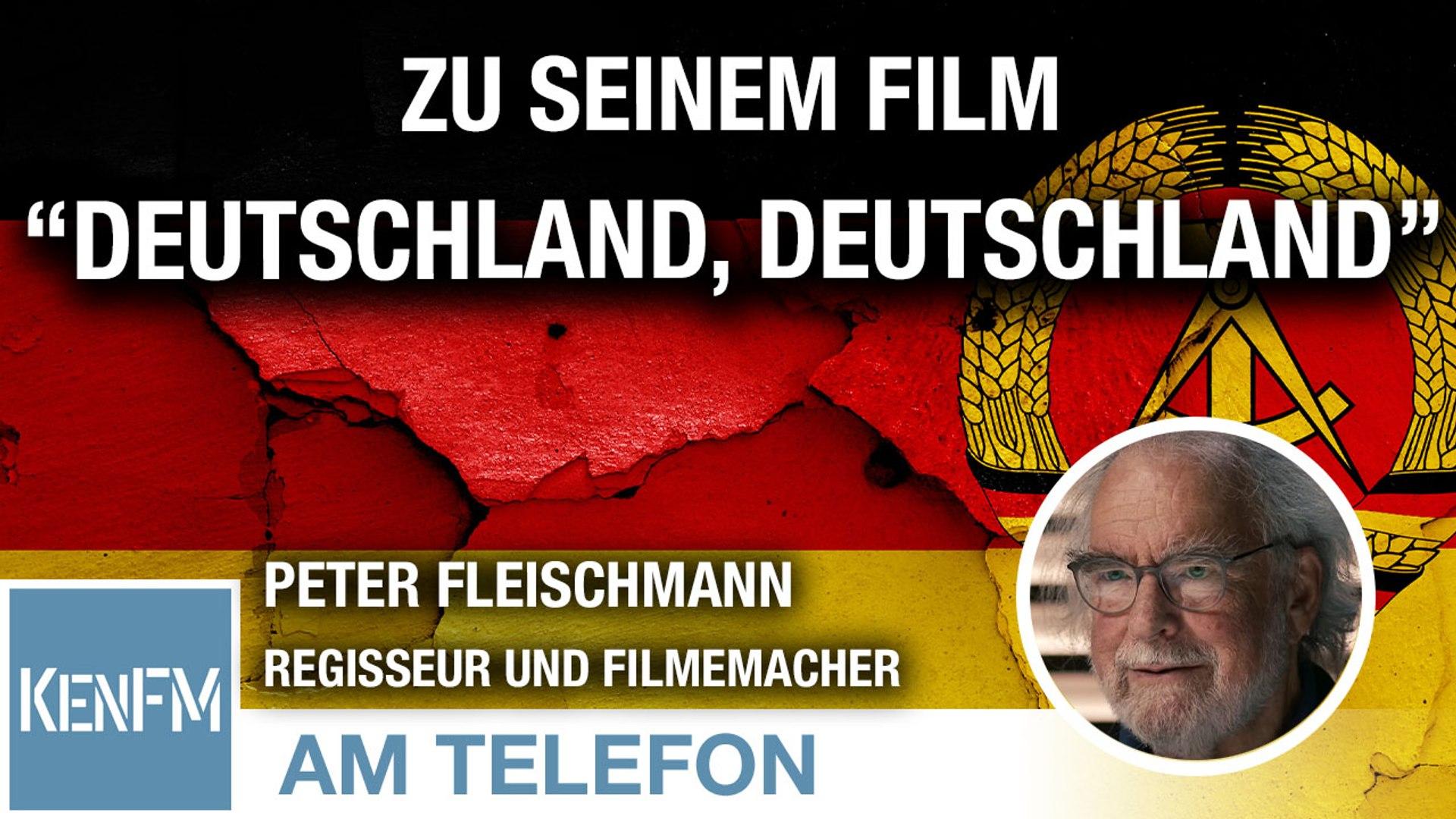 """Am Telefon zu seinem Film """"Deutschland, Deutschland"""": Peter Fleischmann"""