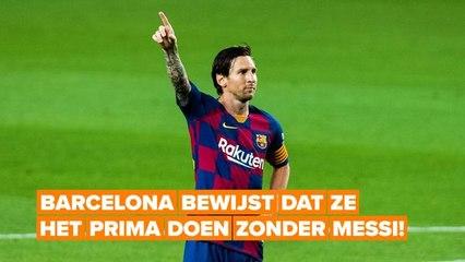 De toekomst van Barcelona ziet er rooskleurig uit, zelfs zonder Messi