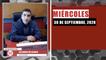 Resumen de noticias miércoles 30 de septiembre 2020 / Panorama Informativo / 88.9 Noticias