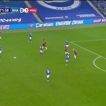 Juan MATA GOAL 0 - 2 BRIGHTON vs MANCHESTER UNITED